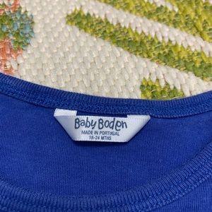 Boden Shirts & Tops - Baby Boden Winter Reindeer Long Sleeve